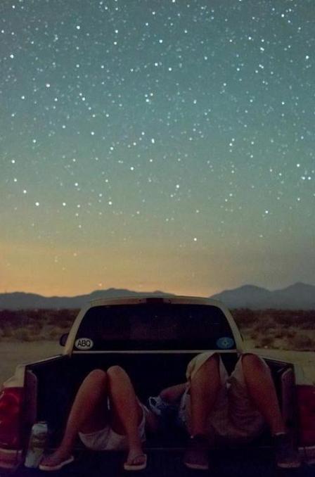 Sleep under stars